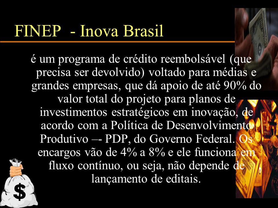 FINEP - Inova Brasil