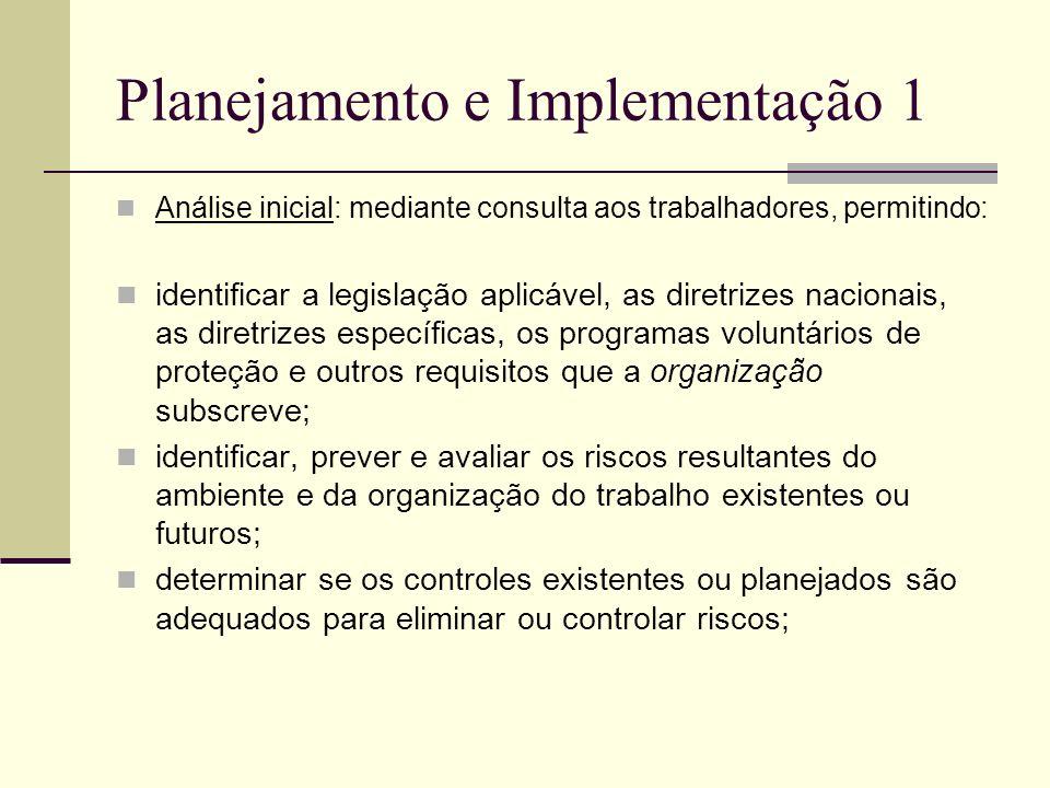 Planejamento e Implementação 1