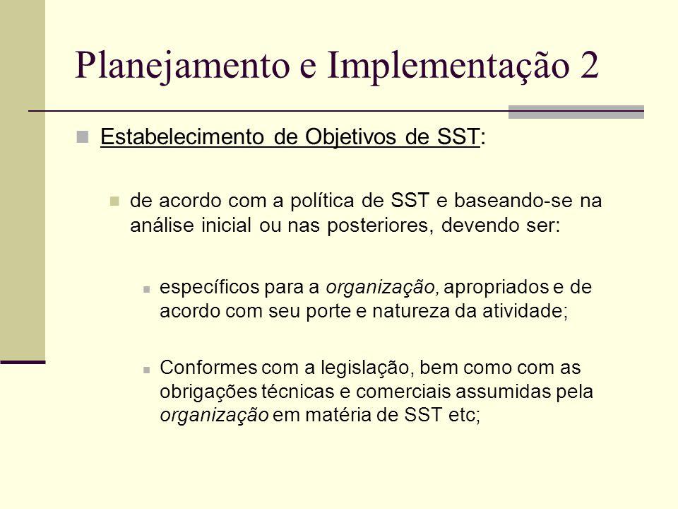 Planejamento e Implementação 2