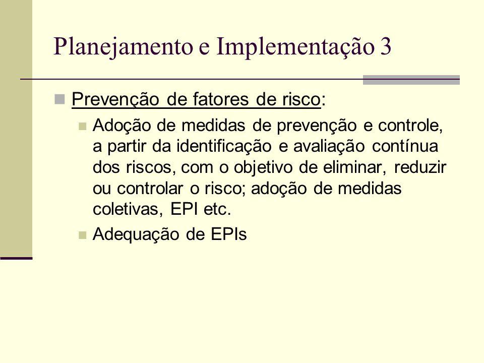 Planejamento e Implementação 3