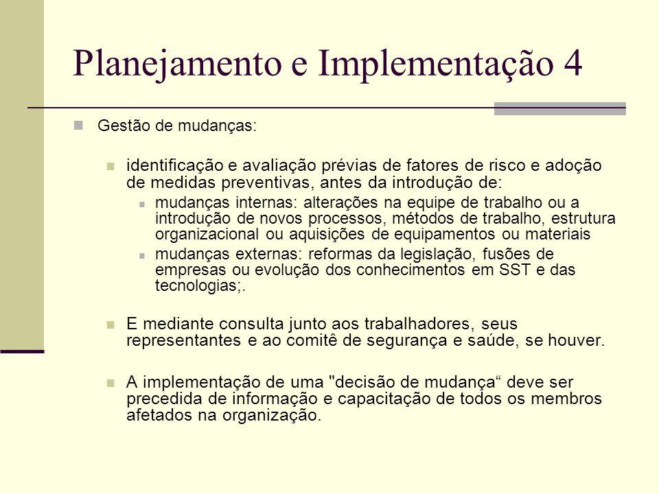 Planejamento e Implementação 4