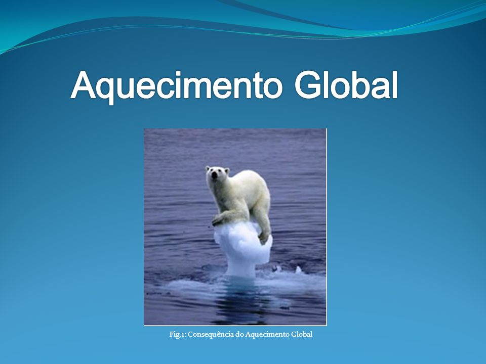 Fig.1: Consequência do Aquecimento Global
