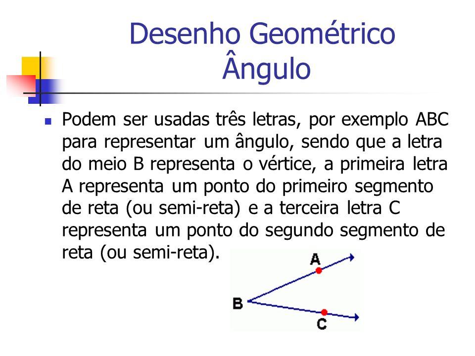 Desenho Geométrico Ângulo