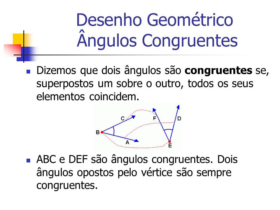 Desenho Geométrico Ângulos Congruentes