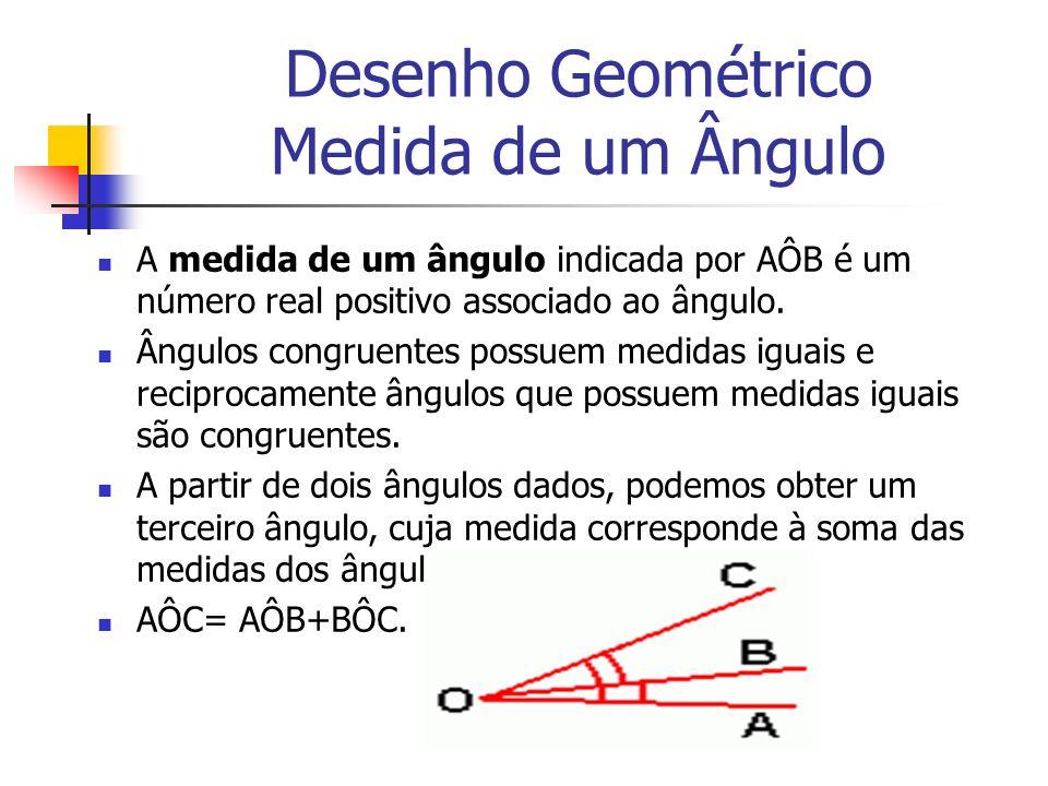 Desenho Geométrico Medida de um Ângulo