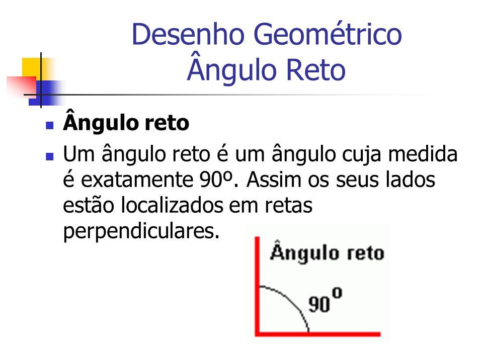 Desenho Geométrico Ângulo Reto