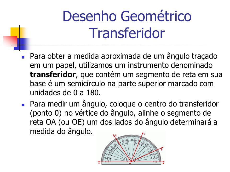 Desenho Geométrico Transferidor