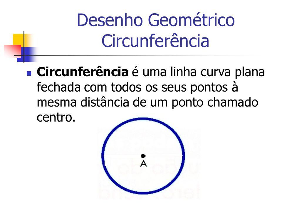 Desenho Geométrico Circunferência
