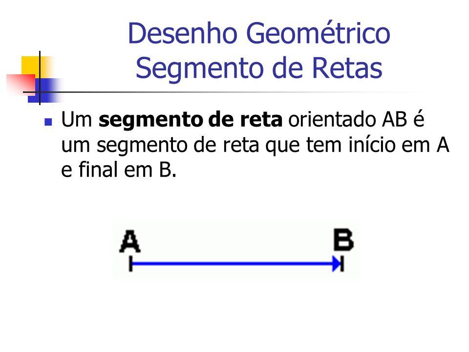 Desenho Geométrico Segmento de Retas
