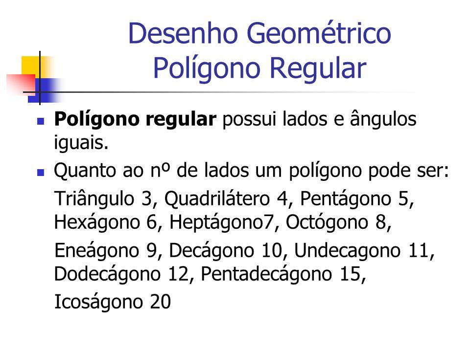 Desenho Geométrico Polígono Regular