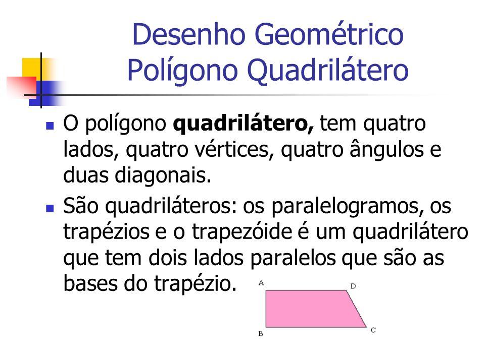 Desenho Geométrico Polígono Quadrilátero