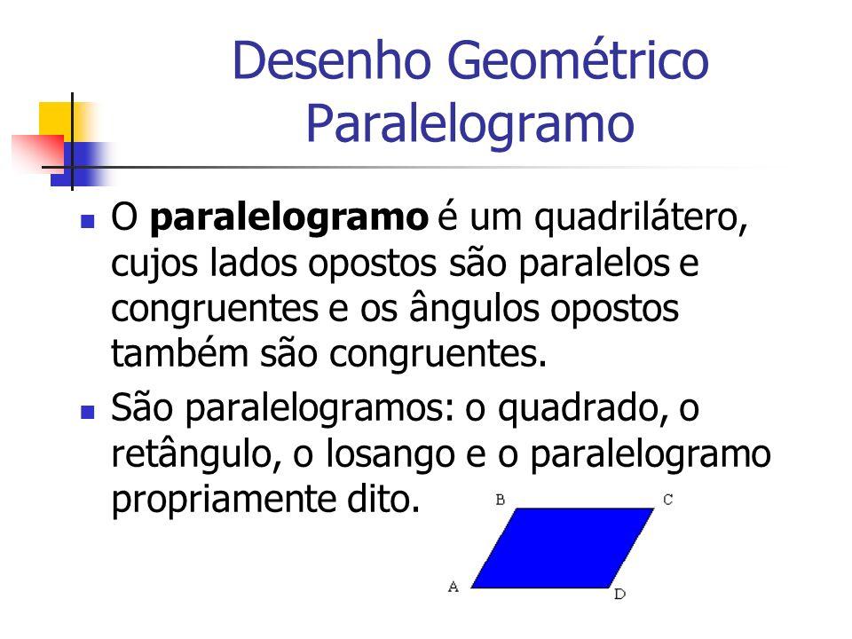 Desenho Geométrico Paralelogramo