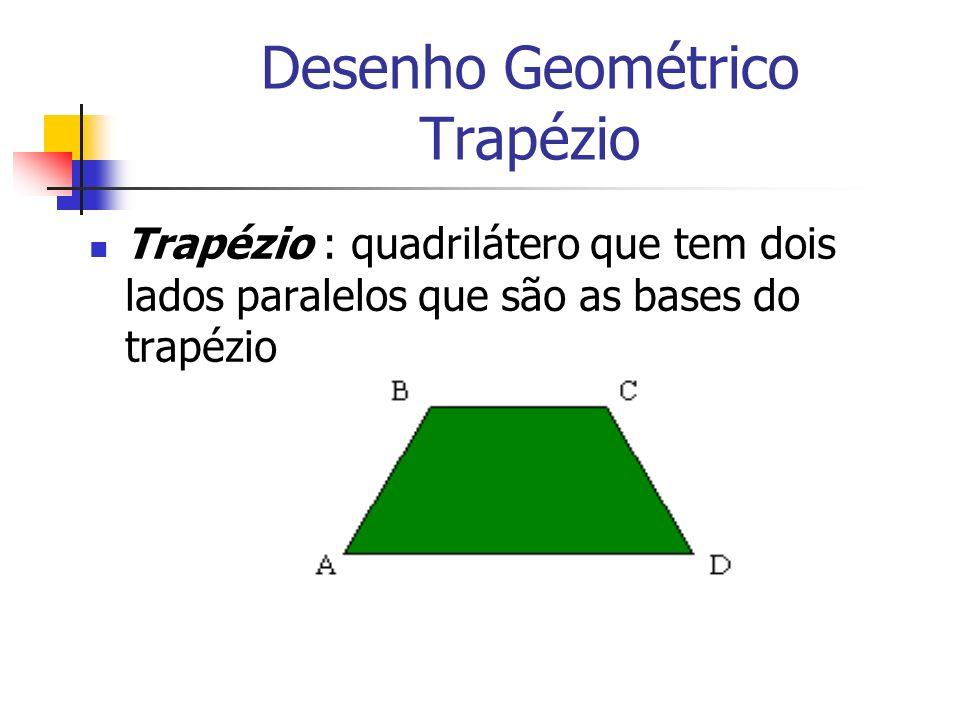 Desenho Geométrico Trapézio