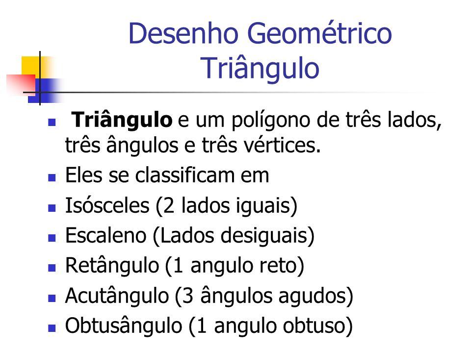 Desenho Geométrico Triângulo
