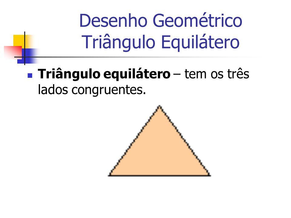 Desenho Geométrico Triângulo Equilátero
