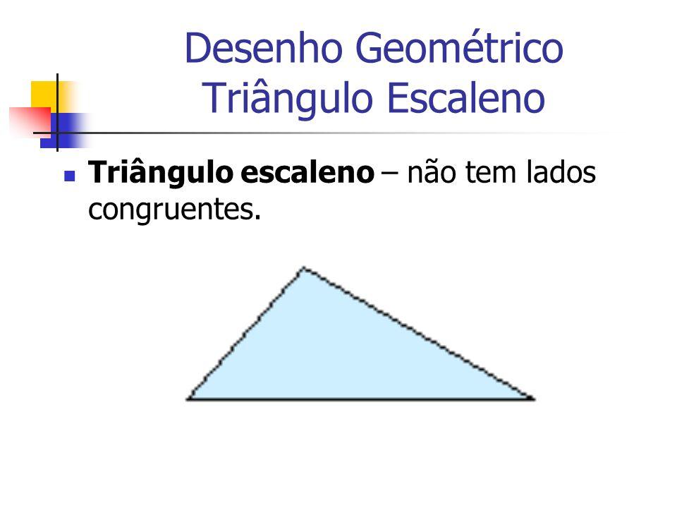 Desenho Geométrico Triângulo Escaleno