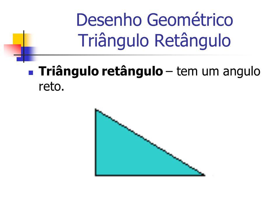 Desenho Geométrico Triângulo Retângulo