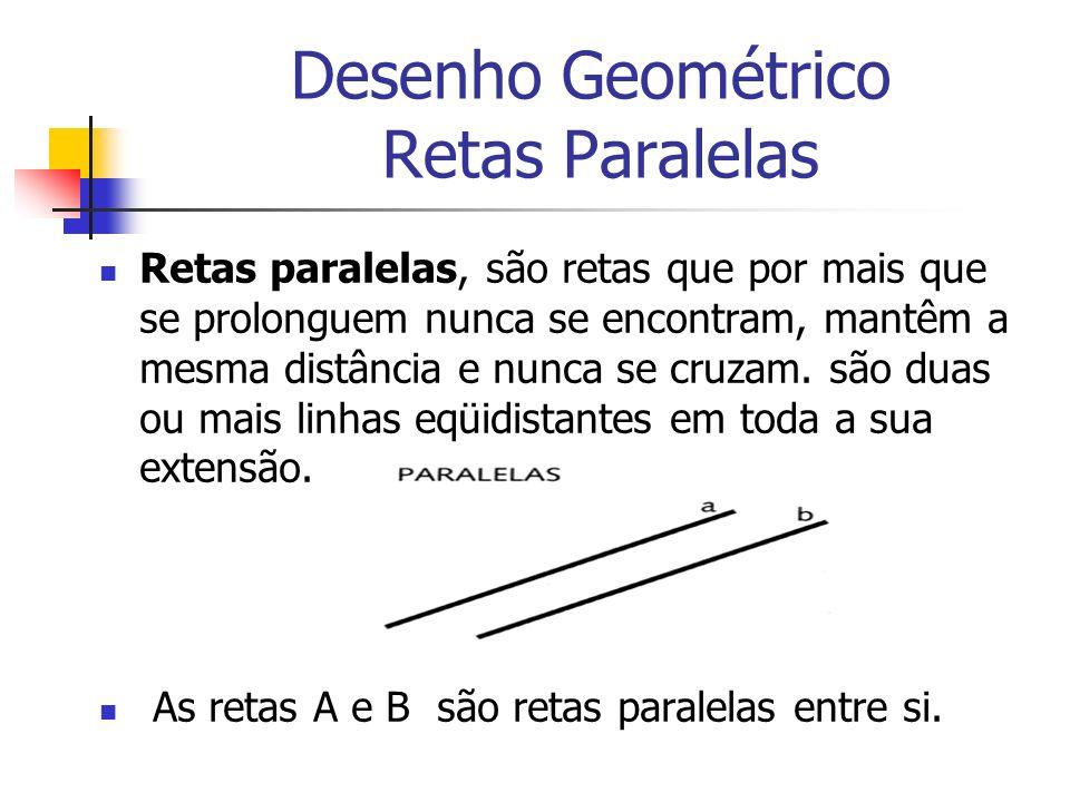 Desenho Geométrico Retas Paralelas