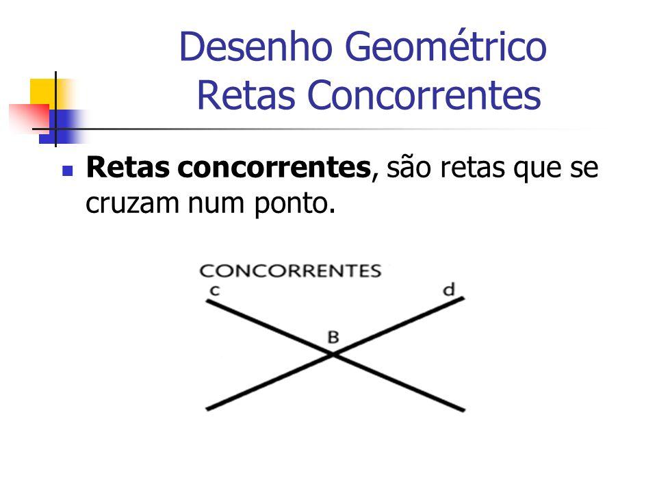 Desenho Geométrico Retas Concorrentes