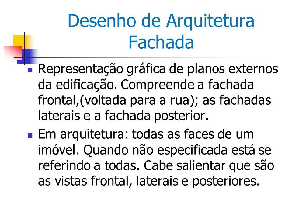 Desenho de Arquitetura Fachada