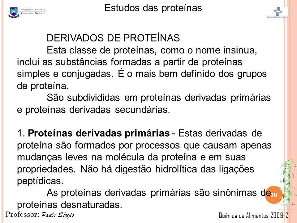 DERIVADOS DE PROTEÍNAS