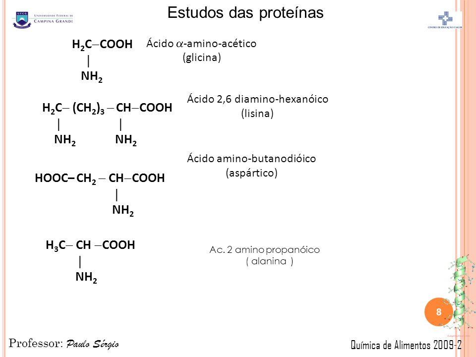 H2CCOOH  NH2 H2C (CH2)3  CHCOOH   NH2 NH2 HOOC– CH2  CHCOOH 