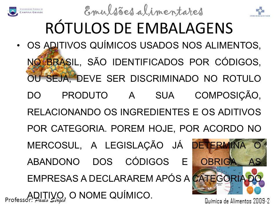 RÓTULOS DE EMBALAGENS