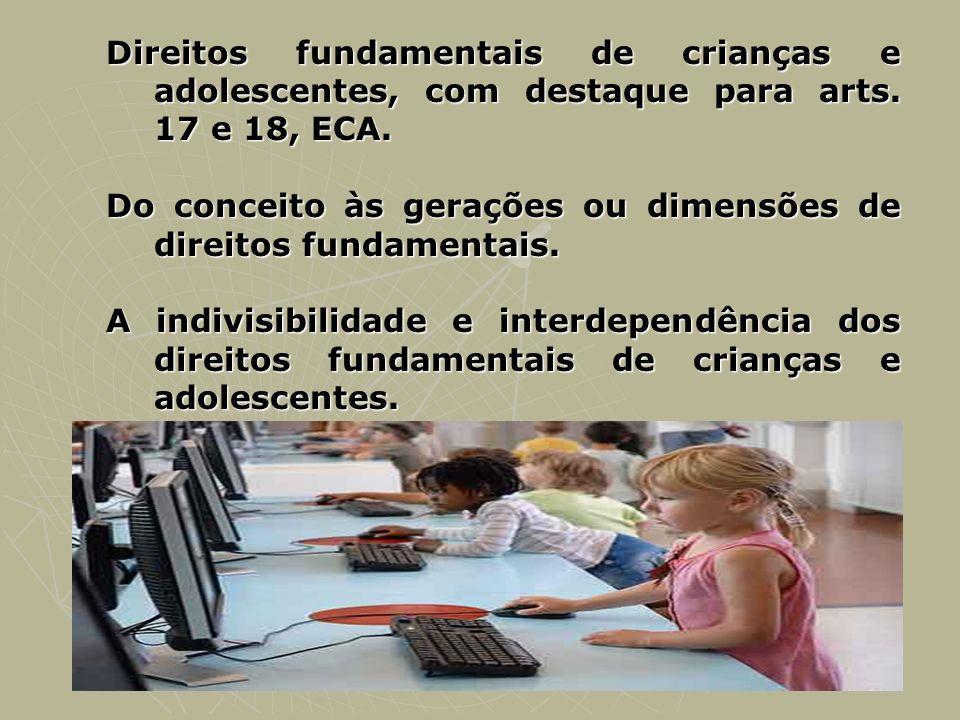 Do conceito às gerações ou dimensões de direitos fundamentais.