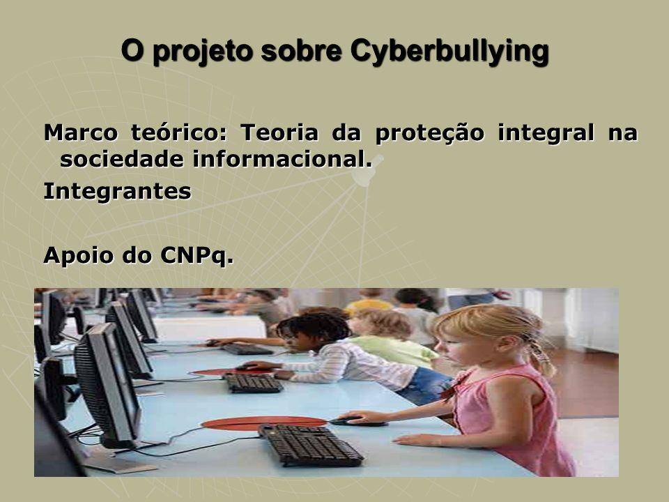 O projeto sobre Cyberbullying