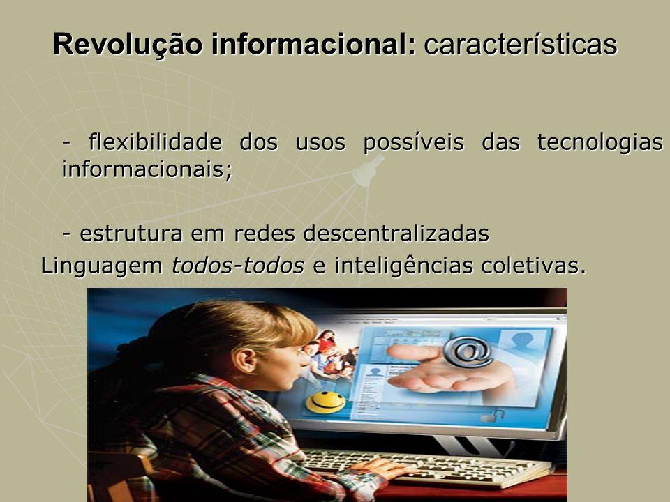 Revolução informacional: características