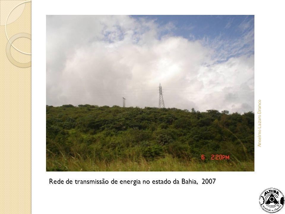 Rede de transmissão de energia no estado da Bahia, 2007