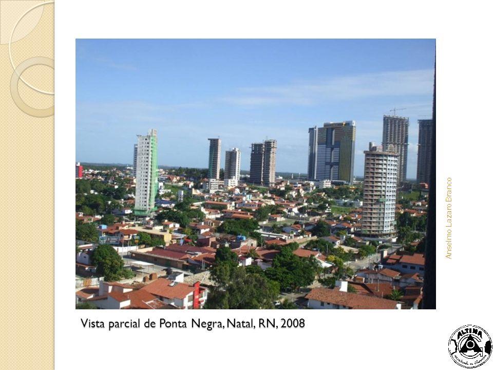 Vista parcial de Ponta Negra, Natal, RN, 2008