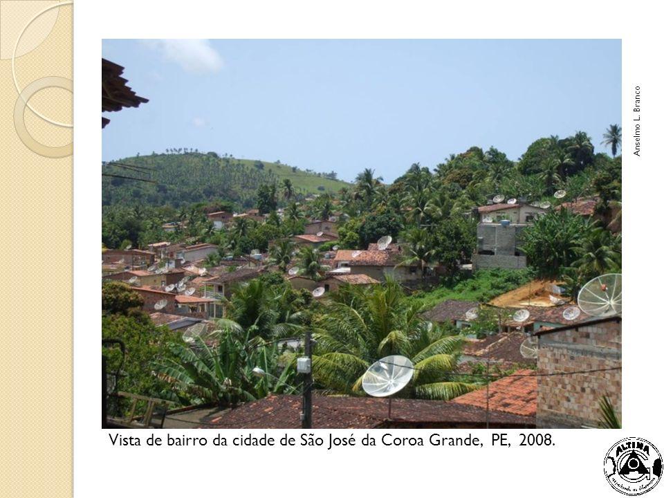 Vista de bairro da cidade de São José da Coroa Grande, PE, 2008.