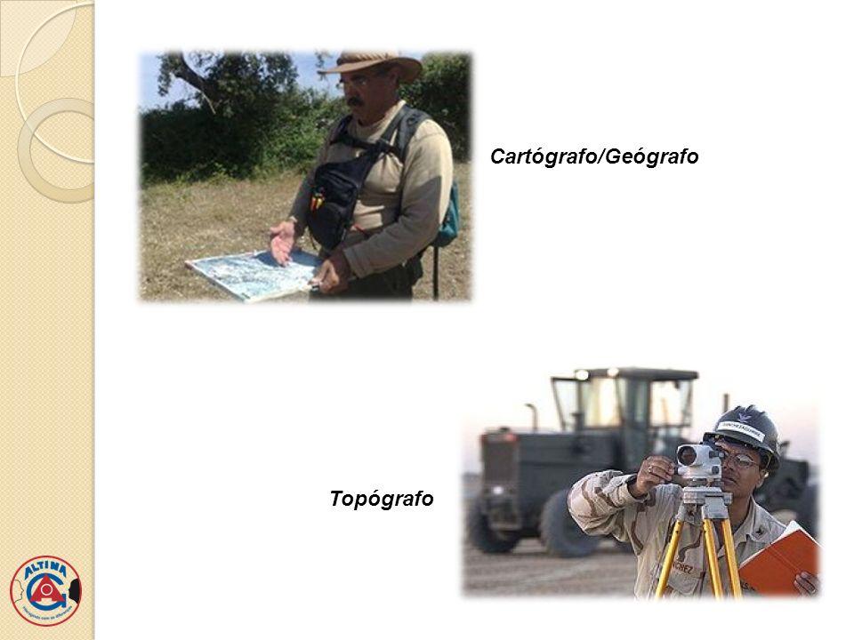 Cartógrafo/Geógrafo Topógrafo