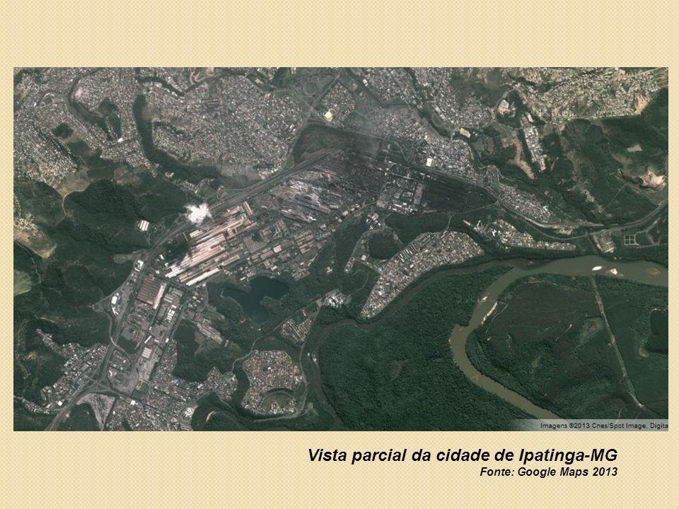 Vista parcial da cidade de Ipatinga-MG
