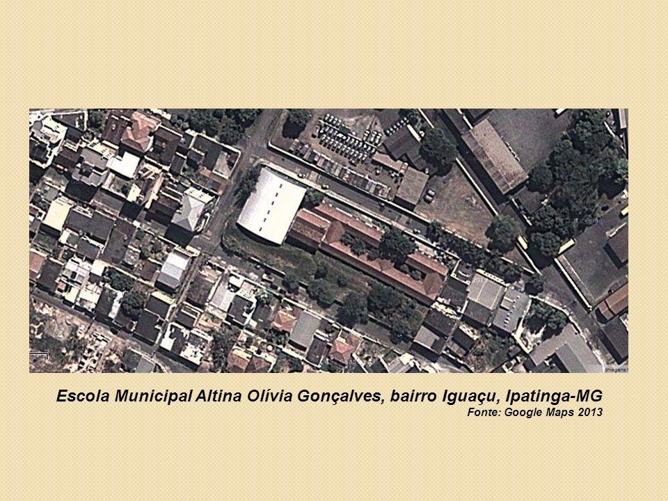 Escola Municipal Altina Olívia Gonçalves, bairro Iguaçu, Ipatinga-MG