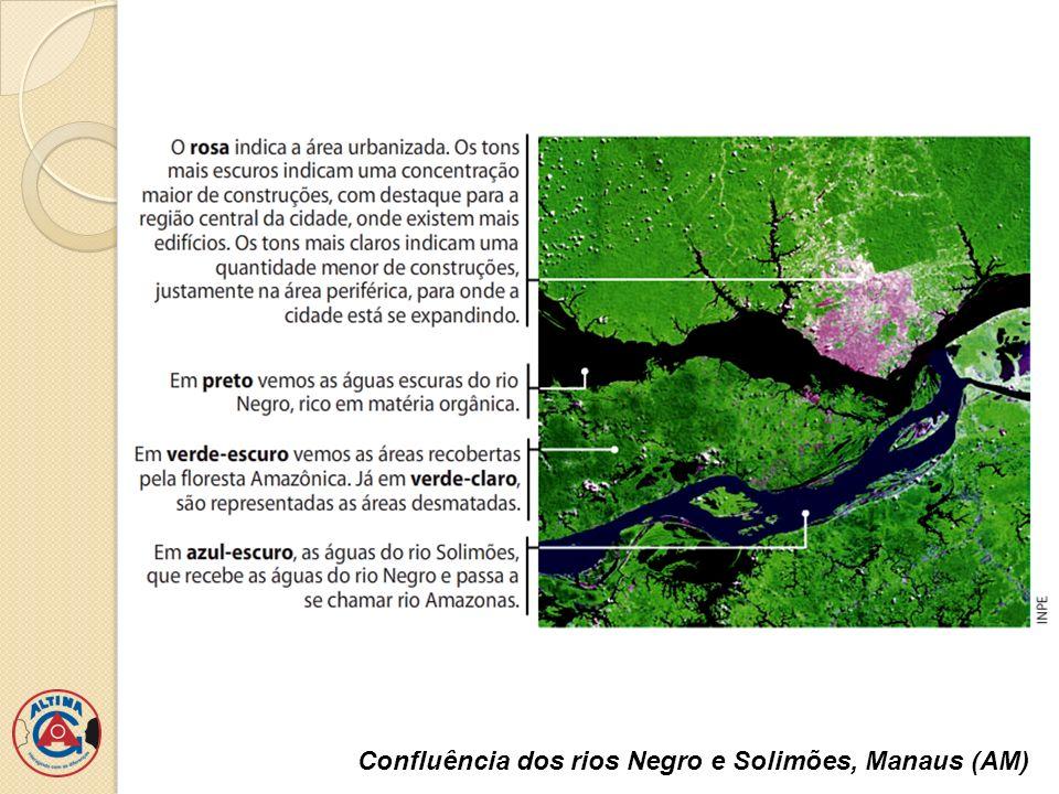 Confluência dos rios Negro e Solimões, Manaus (AM)