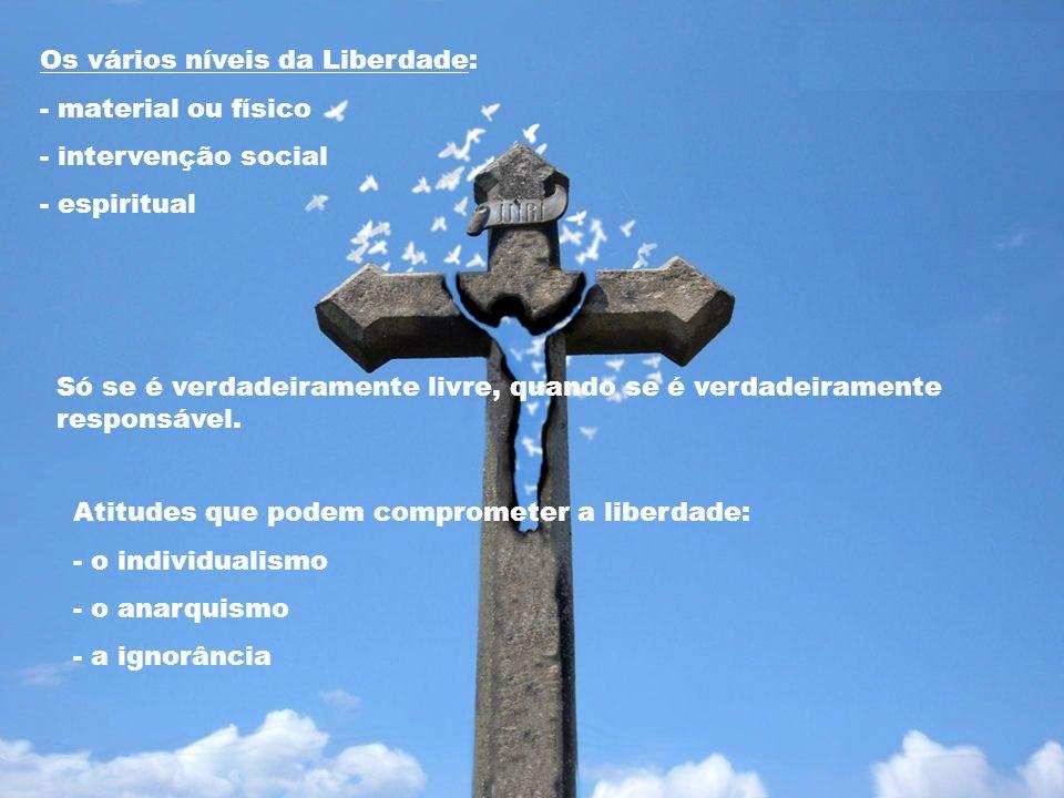 Os vários níveis da Liberdade:
