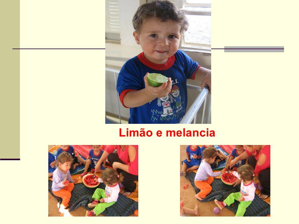 Limão e melancia