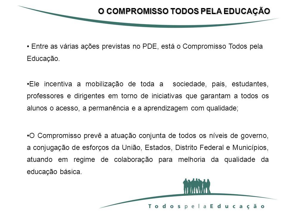 O COMPROMISSO TODOS PELA EDUCAÇÃO