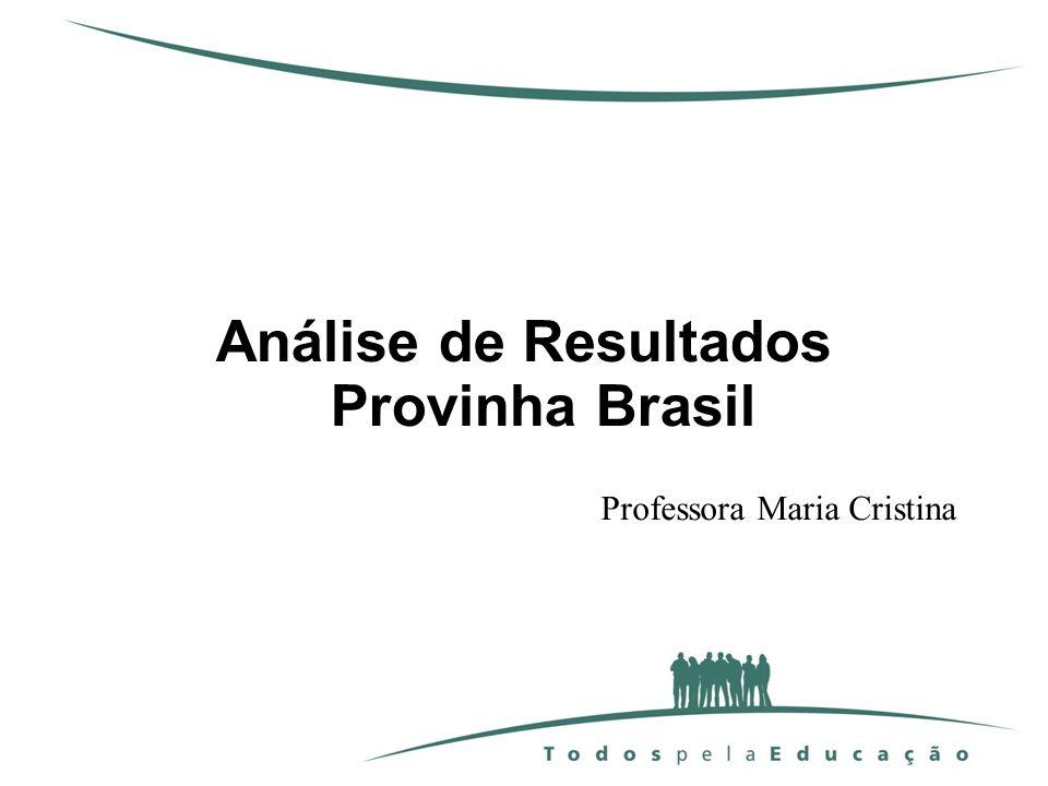 Análise de Resultados Provinha Brasil