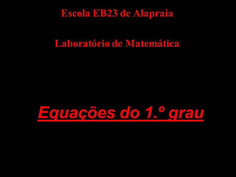 Escola EB23 de Alapraia Laboratório de Matemática