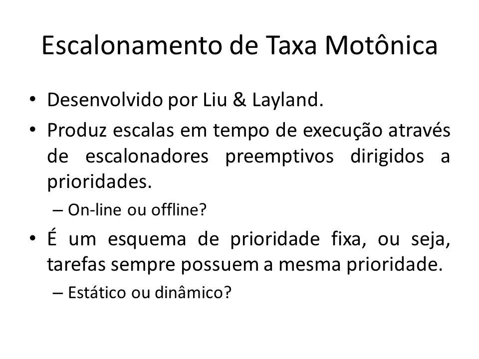 Escalonamento de Taxa Motônica