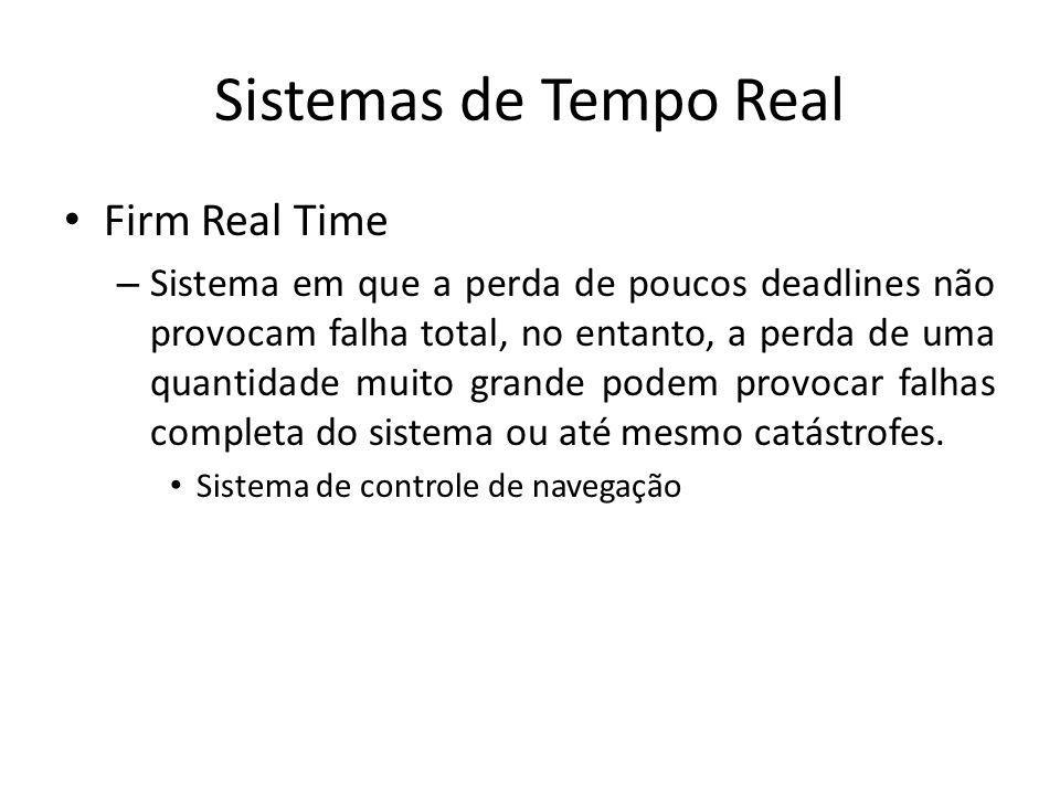 Sistemas de Tempo Real Firm Real Time