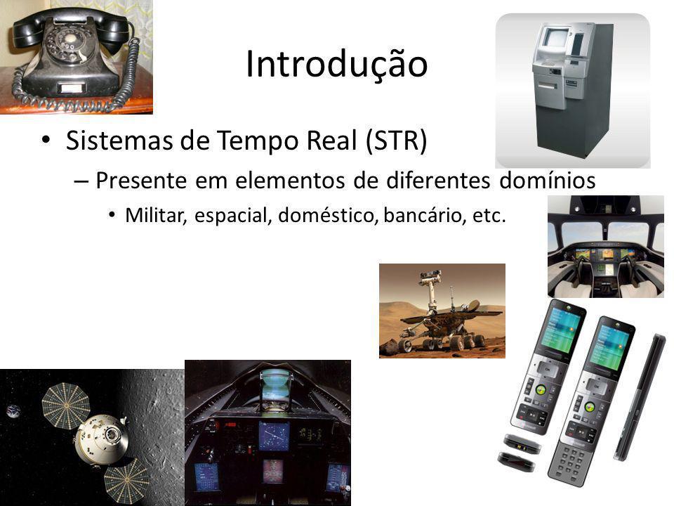 Introdução Sistemas de Tempo Real (STR)