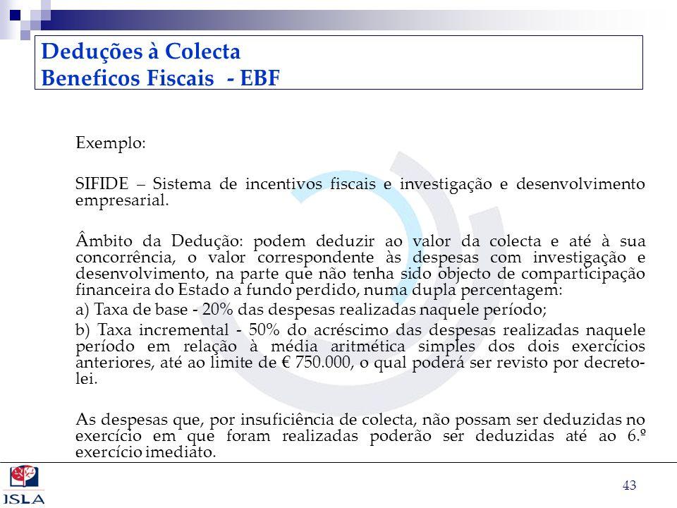 Beneficos Fiscais - EBF