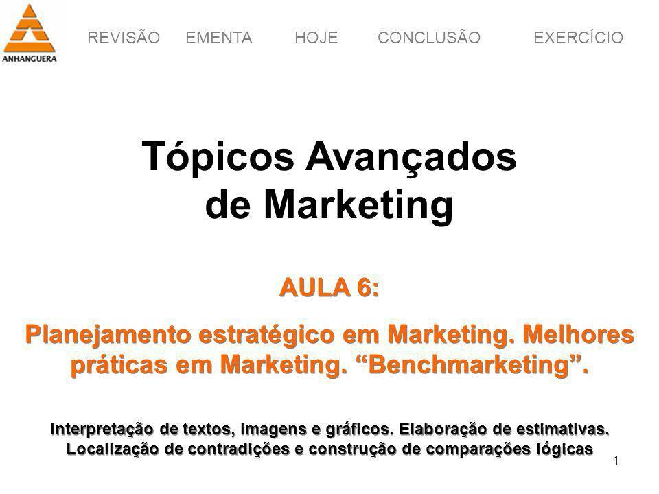 Tópicos Avançados de Marketing