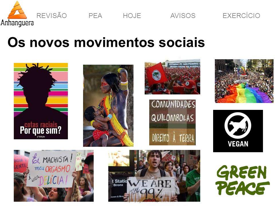 Os novos movimentos sociais
