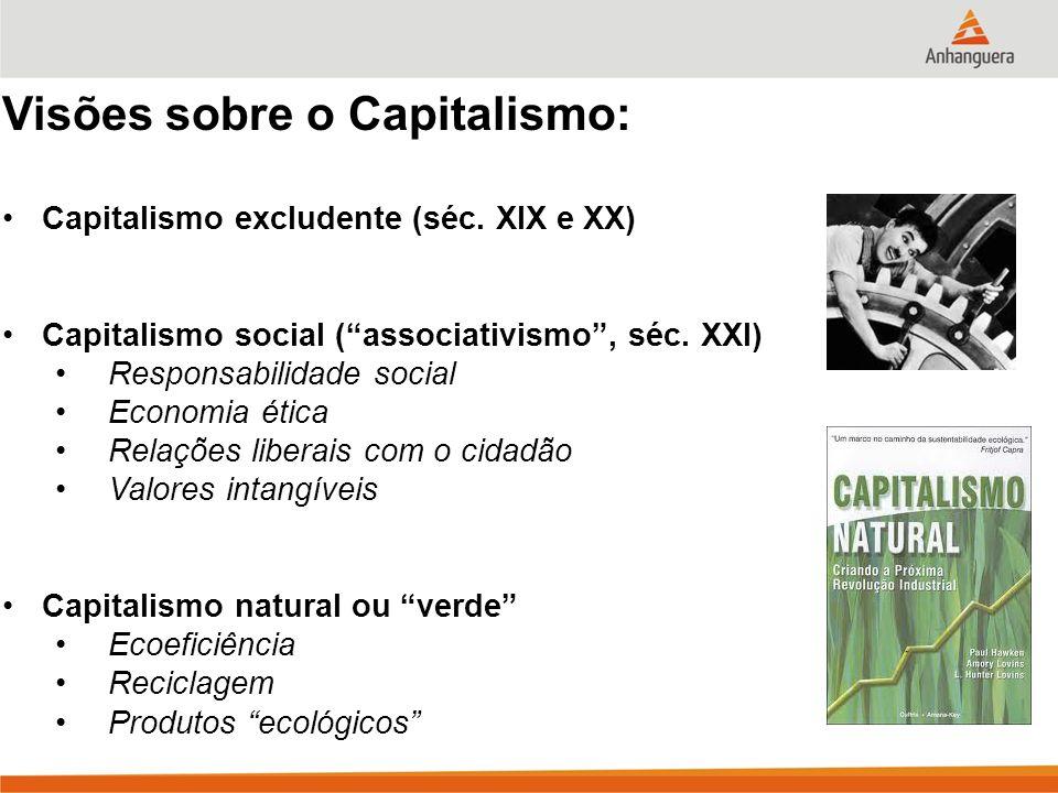 Visões sobre o Capitalismo: