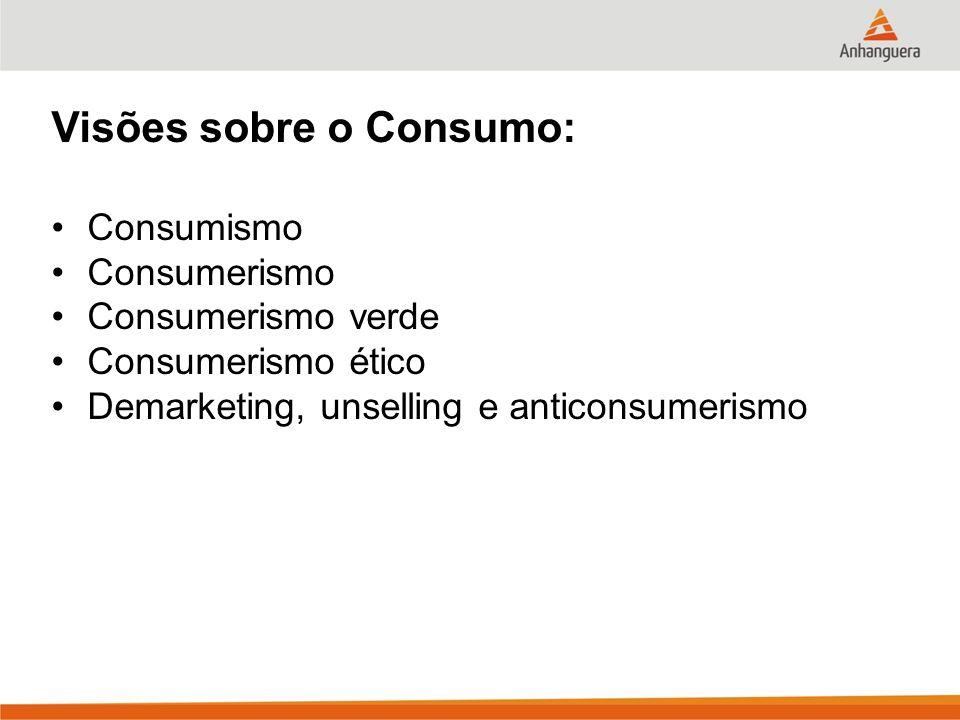 Visões sobre o Consumo:
